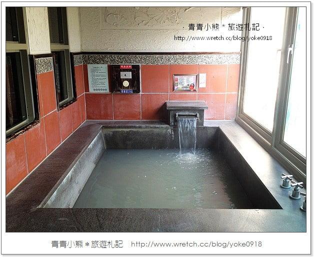 關子嶺溫泉推薦》沐春溫泉養生會館~泡泥漿溫泉